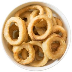 205563S Battered Onion Rings (Greens)