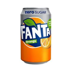 309703C Fanta Orange Zero Cans