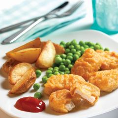 200866C Battered Chicken Nuggets 20g (Chefs Selections)