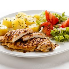 206269C Cooked Cajun Chicken Butterfly