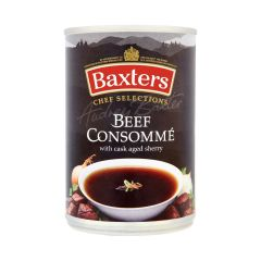 301756C Beef Consomme (Baxters)