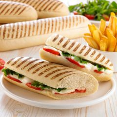 205310C Pre-sliced Grill Marked Paninis (Panefresco)