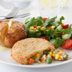 203400C Cheese & Vegetable Bakes (White Knife)