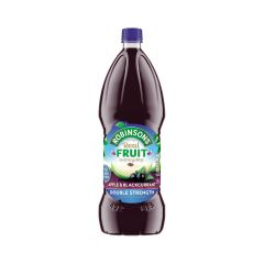 307601C Apple & Blackcurrant Cordial Double Concentrate (Robinsons)