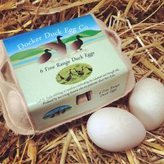 FISH026 Duck Eggs (Docker Duck Egg Co.)