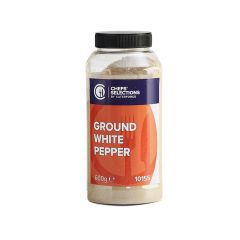 308160S Ground White Pepper (Chefs Selections)