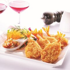205820C Breaded Butterfly King Prawns (Pacific West)
