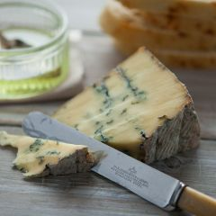 307683C Black Dub Blue Cheese 600g approx. (Appleby Creamery)