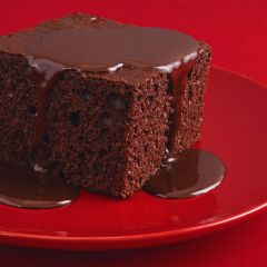 203354C Chocolate Pudding with Chocolate Sauce (Classic Desserts)