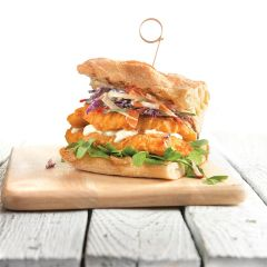 200240C Battered Chicken Burger (Chefs Selections)