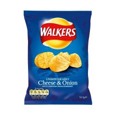 302219C Cheese & Onion Crisps (Walkers)