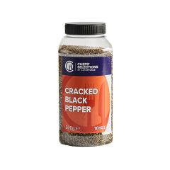 308148C Cracked Black Pepper (Chefs Selections)