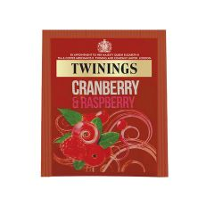 306781S Cranberry & Raspberry Envelope Teabags (Twinings)