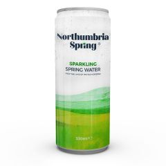 309540C Northumbria Spring Sparkling Water Cans