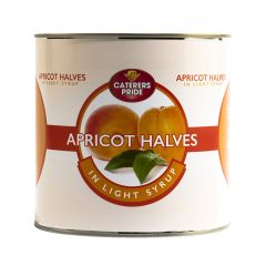 303844S Apricot Halves (Caterers Pride)