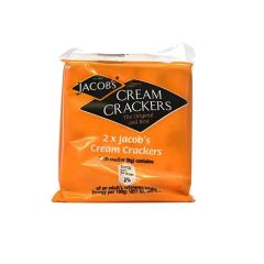 300370C Cream Crackers Twin Packs (Jacobs)