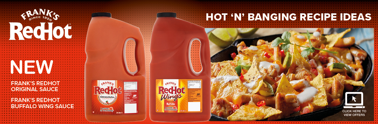 NEW Frank's RedHot Sauce
