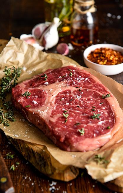 Rib Eye Steaks