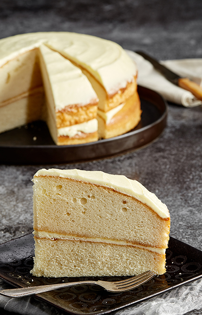 Classic Desserts Lemon Curd Cake